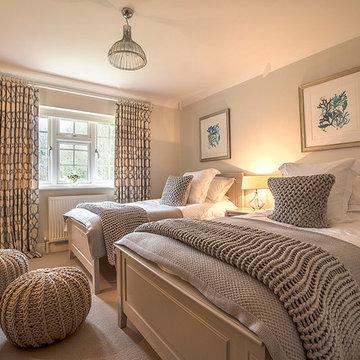 Coastal Theme Guest Bedroom