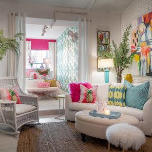 Coastal, Whimsical, Transitional girls room