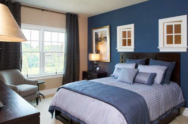 Transitional Bedroom by Garman Builders Inc.
