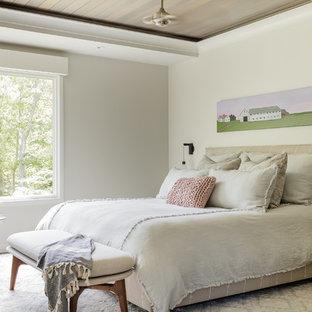 Inredning av ett lantligt sovrum