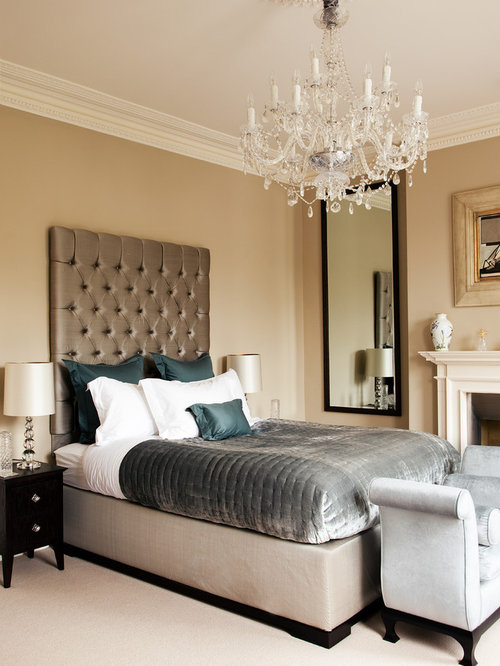 Victorian bedroom design ideas renovations photos with for Victorian style master bedroom
