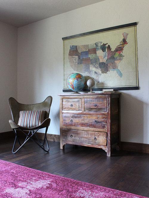 Rustic Purple Bedroom Design Ideas Renovations Amp Photos