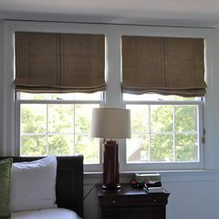 eclectic bedroom by Camille Moore Window Treatments & Custom Bedding