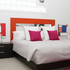 Contemporary Bedroom by Jeff Jones Snap It Photography