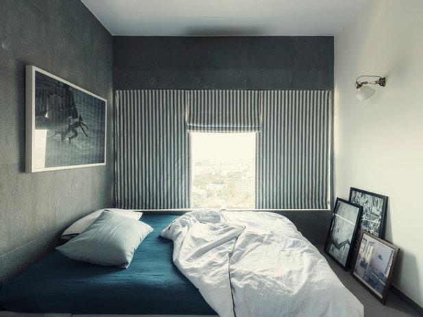 Industrial Bedroom by ravi vazirani design studio