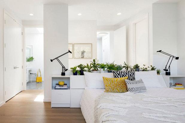 Contemporary Bedroom by Lucy Interior Design
