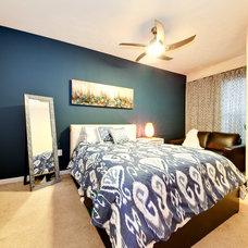 Contemporary Bedroom by Moonlight Interiors