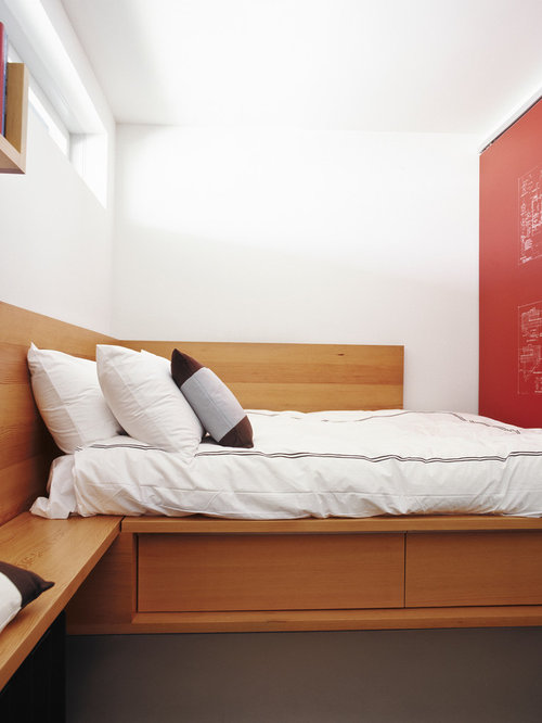 Very small bedroom houzz for Very small bedroom