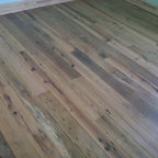 Collins Builders Salvaged Heart Pine and Antique Oak Flooring - Donnie Peek