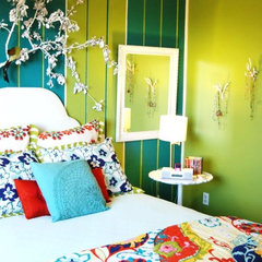 eclectic bedroom by Judith Balis