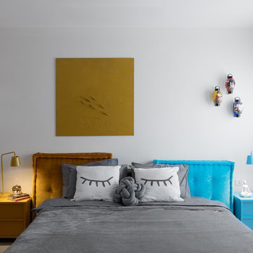 Color Modern House Interior