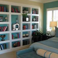 Traditional Bedroom Colorful bedroom