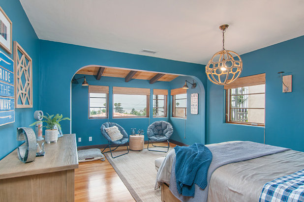 Beach Style Bedroom by Jackson Design & Remodeling