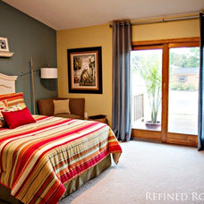 Traditional Bedroom by Refined Rooms LLC