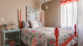 Colorful Guest Room