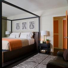 Contemporary Bedroom by SoCal Contractor