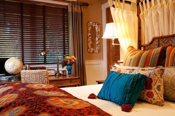 Eclectic Bedroom by Darci Goodman Design