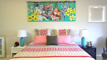 Colour Play - Refreshing a Master Bedroom