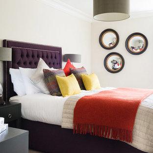 На фото: спальни в стиле фьюжн