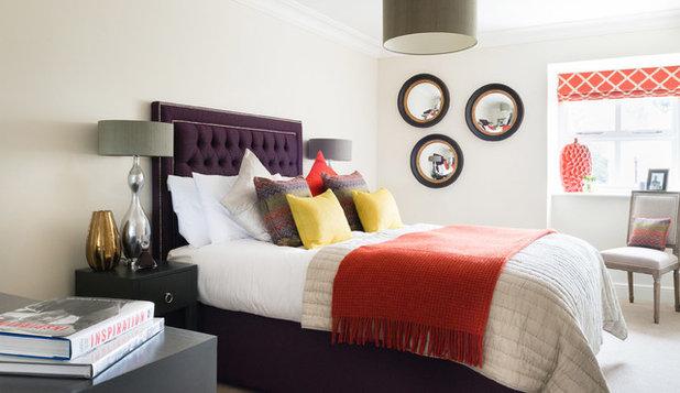 Unique Eclectic Bedroom by Park Grove Design