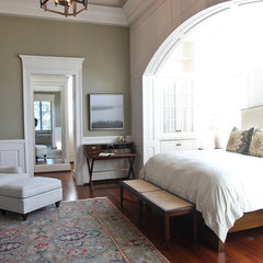 traditional bedroom by Margaret Donaldson Interiors