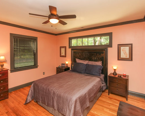 Craftsman Orange Bedroom Design Ideas Remodels Photos Houzz