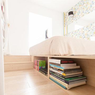 Compact modern apartment