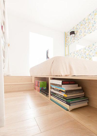 Contemporary Bedroom by Black Fox Interiors