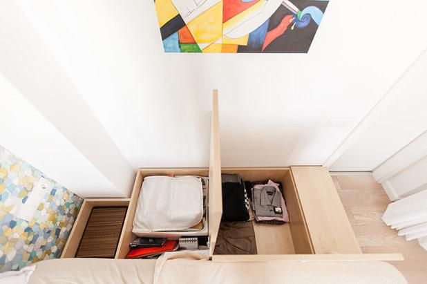 Contemporain Chambre by Black Fox Interiors