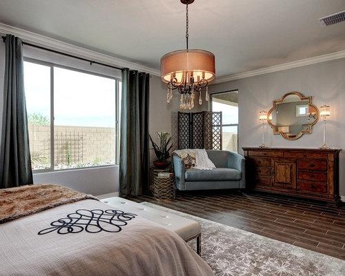 bedroom design ideas renovations photos with porcelain. Black Bedroom Furniture Sets. Home Design Ideas