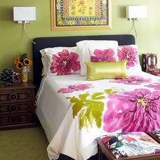 Eclectic Bedroom by Tamra Rubin Design