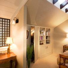 Asian Bedroom by Sandra Bird Designs
