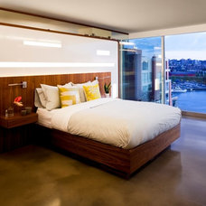 Contemporary Bedroom by capsuledesigns