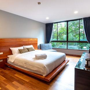他の地域のコンテンポラリースタイルのおしゃれな寝室