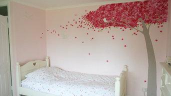 Confetti Blossom Bedroom