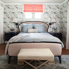 Transitional Bedroom by company kd, llc.