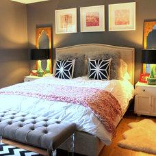 Traditional Bedroom by Nichole Loiacono Design