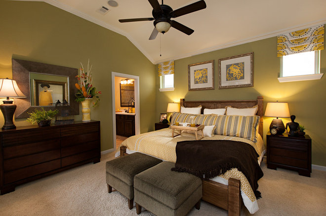 Traditional Bedroom by Connie Anderson Photography