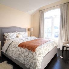 Contemporary Bedroom by DK Studio