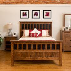 Craftsman Bedroom by Conrad Grebel Furniture