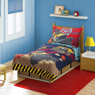 Construction Bedding and Room Decorations