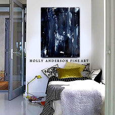 Modern Bedroom by Holly Anderson Fine Art