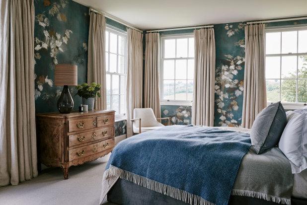 Transitional Bedroom by Garry Meakins Studio