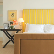 Contemporary Bedroom by Christopher Gaona Design Studio