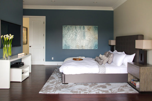 Modern Bedroom by A.S.D. Interiors - Shirry Dolgin, Owner