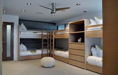 ¿Tres o más camas en un dormitorio? Sí, es posible