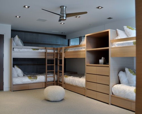 Bunk Bed With Closet