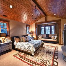 Contemporary Bedroom by Alder and Tweed