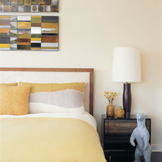 Contemporary Bedroom by Amy Lau Design