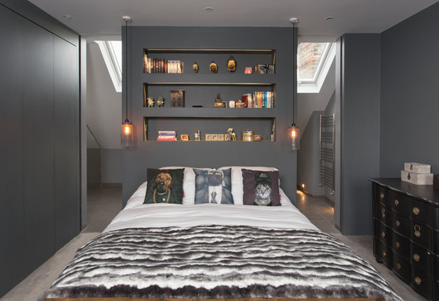 Contemporary Bedroom by frenchStef Inner surface Design